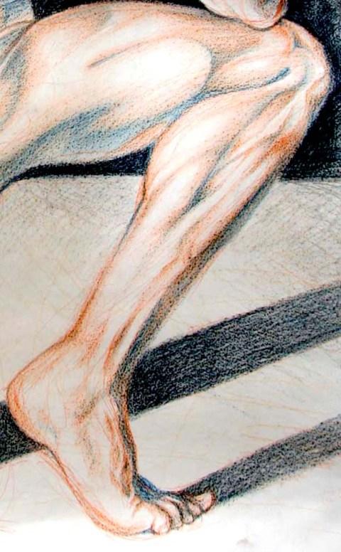 Figure Drawing, Jessica McLeod-Yu