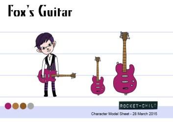fox guitar sheet