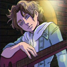 """Guitarist"", Photoshop, 2019"
