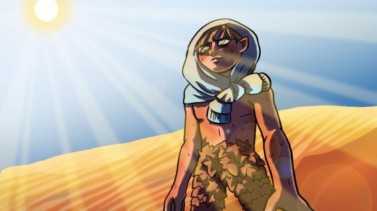 """""""Lost In The Desert"""", photoshop, 2020, Jessica McLeod-Yu"""