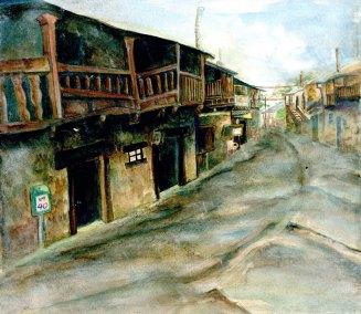 """El Acebo"", Watercolour, Jessica McLeod-Yu, 2018"
